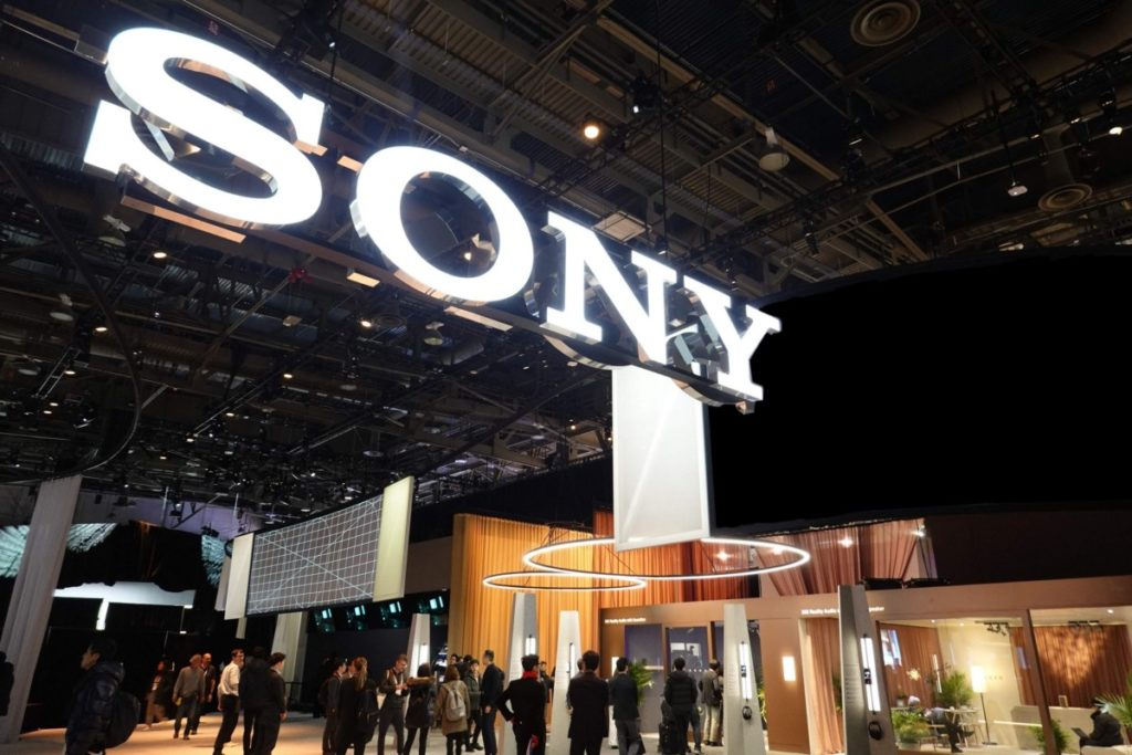 CES 2020 - Sonys Booth